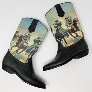 Vintage | Seychelles Cowboy Western Boots Rodeo